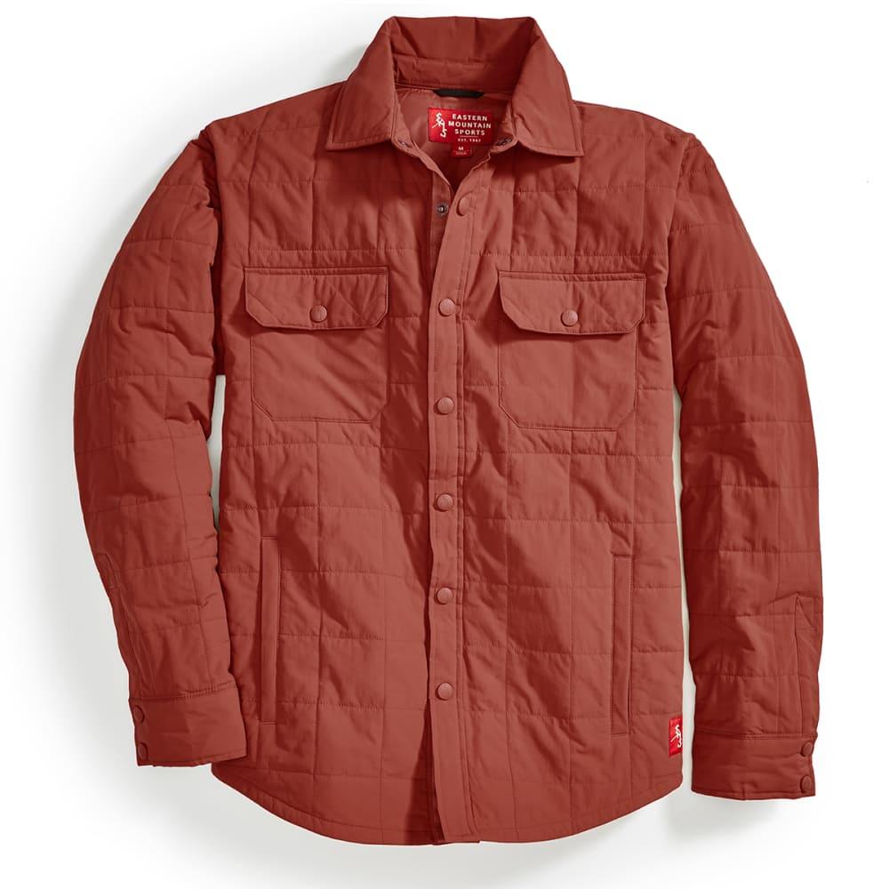 EMS® Men's Adirondack Quilted Shirt Jacket - RUSSET BROWN