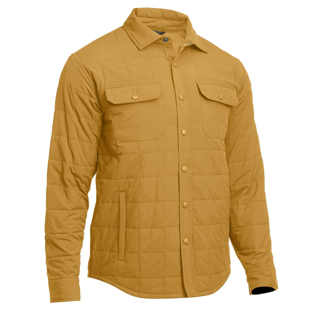 EMS® Men's Adirondack Quilted Shirt Jacket  - DULL GOLD