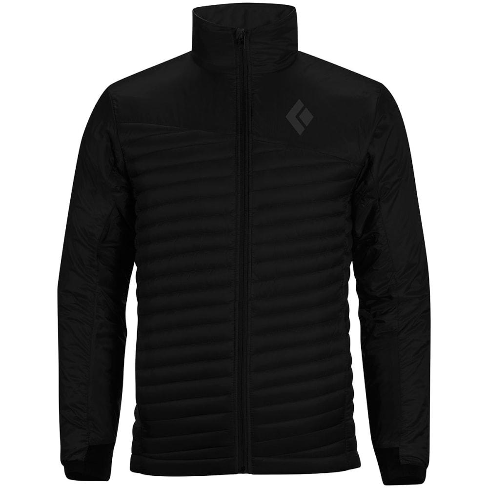 BLACK DIAMOND Men's Hot Forge Hybrid Jacket - BLACK