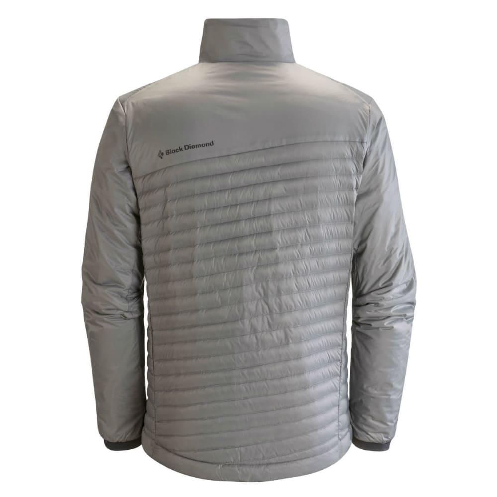BLACK DIAMOND Men's Hot Forge Hybrid Jacket - NICKEL