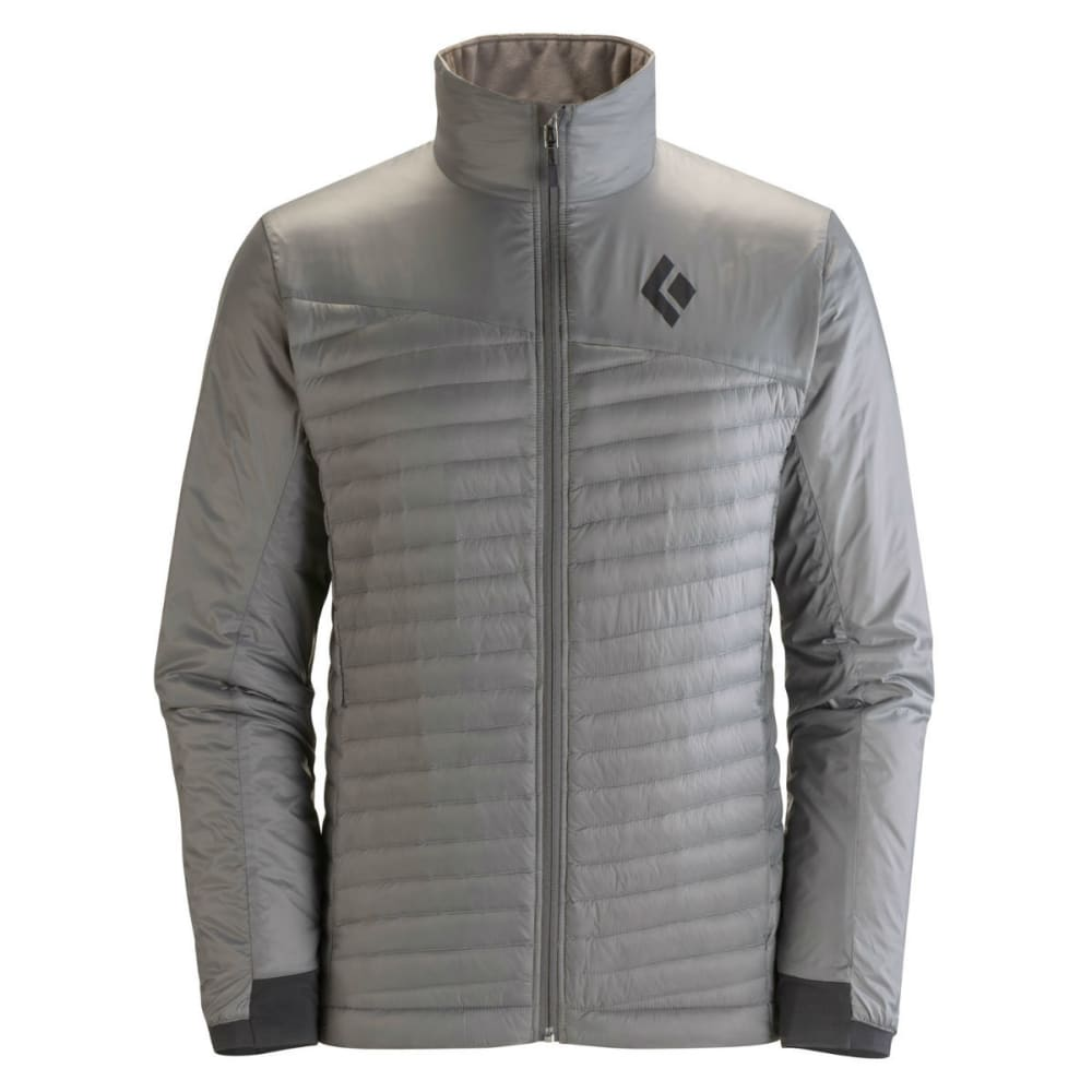 BLACK DIAMOND Men's Hot Forge Hybrid Jacket - NICKEL