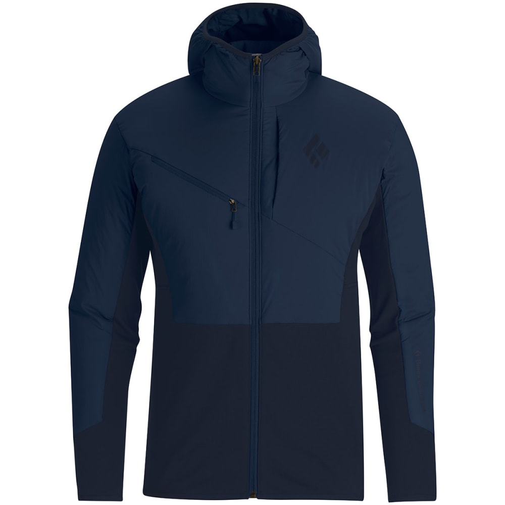 BLACK DIAMOND Men's Deployment Hybrid Hoodie - DENIM