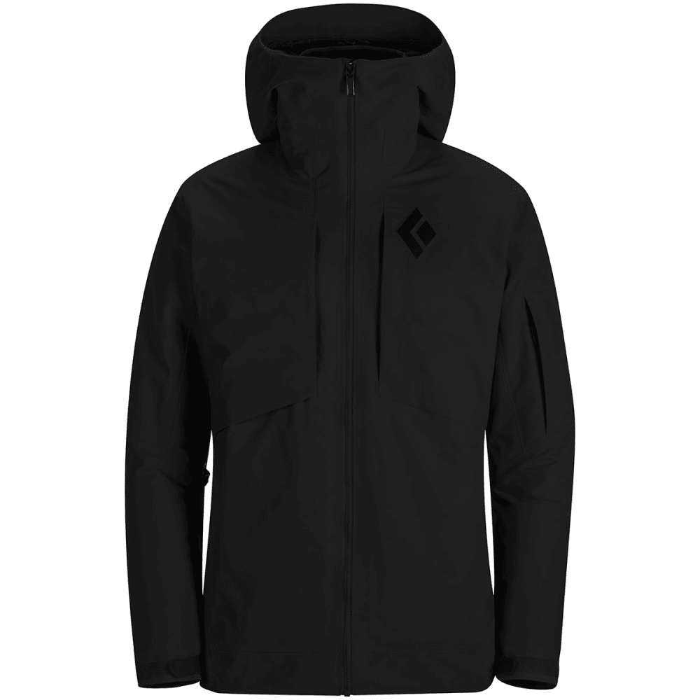 BLACK DIAMOND Men's Zone Shell Jacket - SMOKE