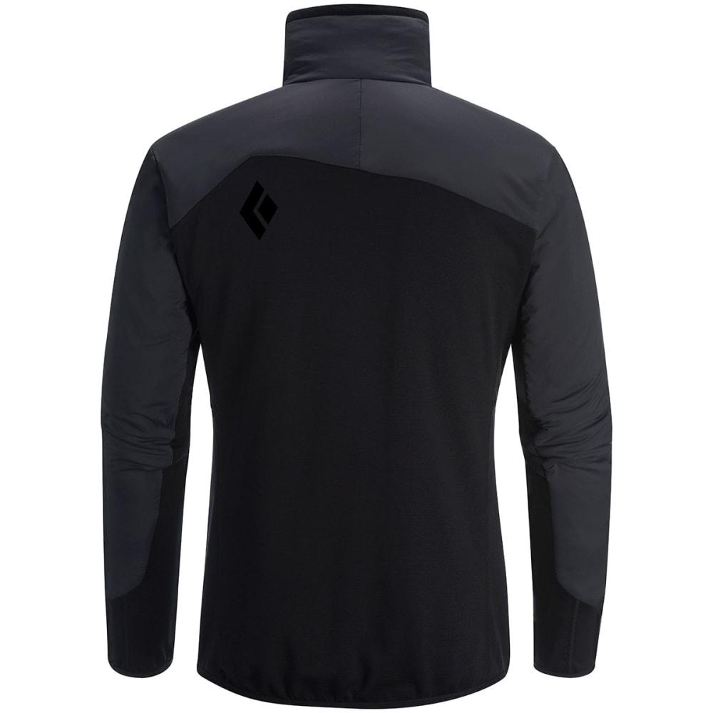 BLACK DIAMOND Men's Deployment Hybrid Jacket - SMOKE