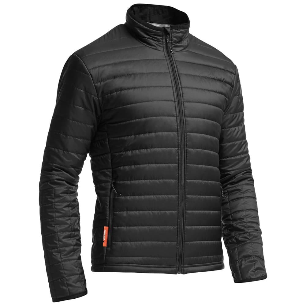ICEBREAKER Men's Stratus LS Zip - BLACK/ BLACK/ BLACK