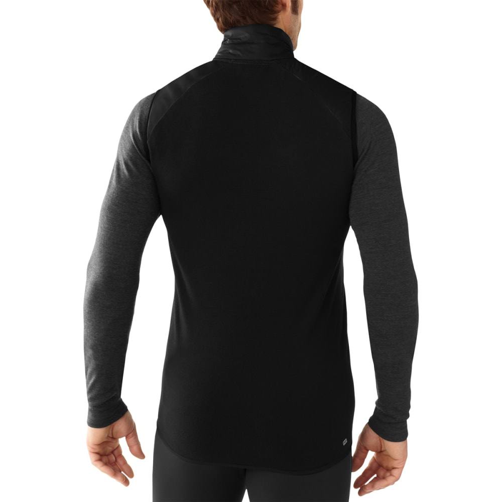 SMARTWOOL Men's PhD SmartLoft Divide Vest - BLACK