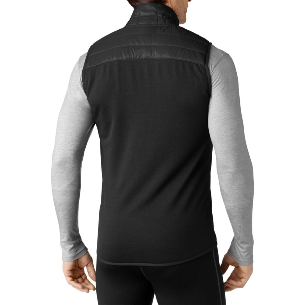SMARTWOOL Men's Corbet 120 Vest - BLACK