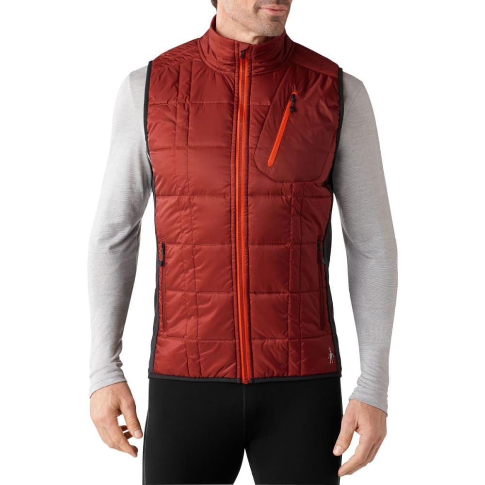 SMARTWOOL Men's Corbet 120 Vest - MOAB RUST