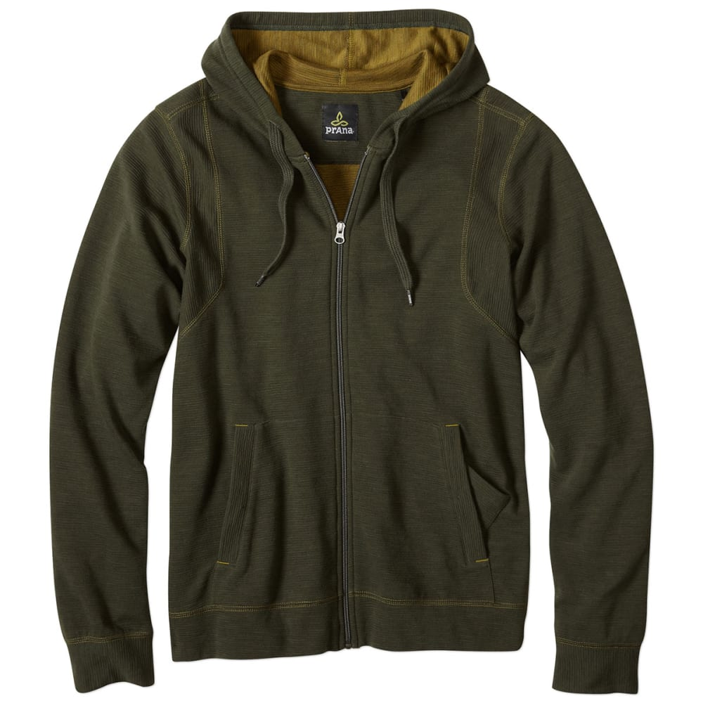 PRANA Men's Barringer Hoodie - DARK OLIVE
