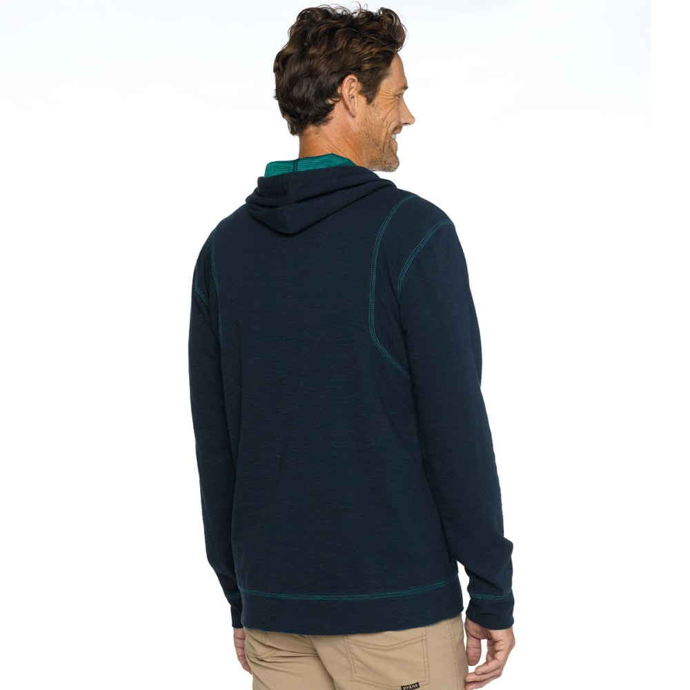 PRANA Men's Barringer Hoodie - NAUTICAL BLUE
