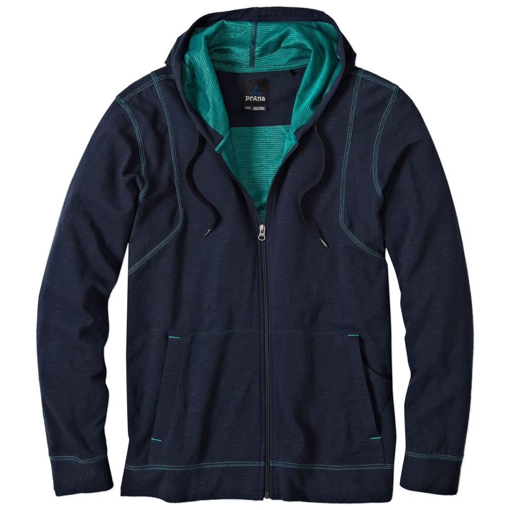 PRANA Men's Barringer Hoodie - NAUTICAL BLUE