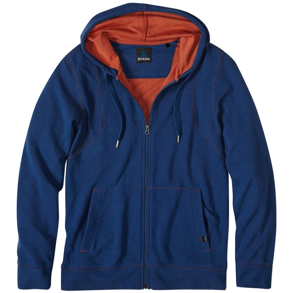 PRANA Men's Barringer Hoodie - DARK COBALT