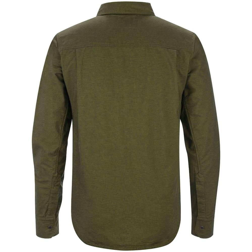 BLACK DIAMOND Men's Chambray Modernist Long-Sleeve Shirt - BURNT OLIVE