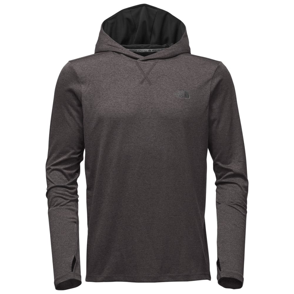 THE NORTH FACE Men's Reactor Hoodie - FLC-TNF DRK GRY HTHR