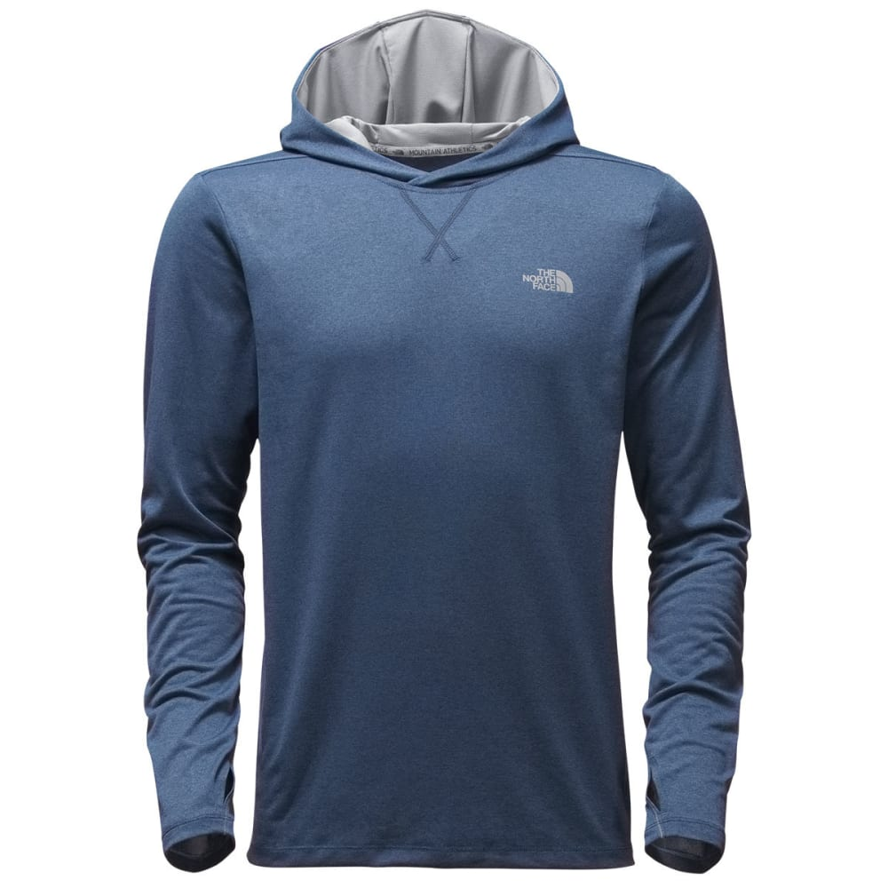 THE NORTH FACE Men's Reactor Hoodie - SHADY BLU/BLU ASTER