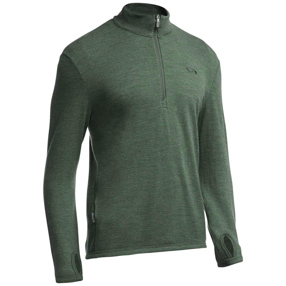 ICEBREAKER Men's Original ½  Zip Sweater - CORIANDER HTHR