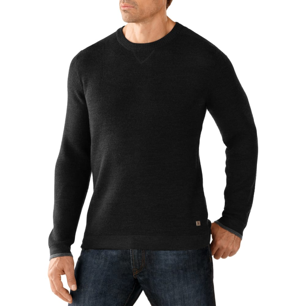 SMARTWOOL Men's Cheyenne Creek Crew - CHARCOAL