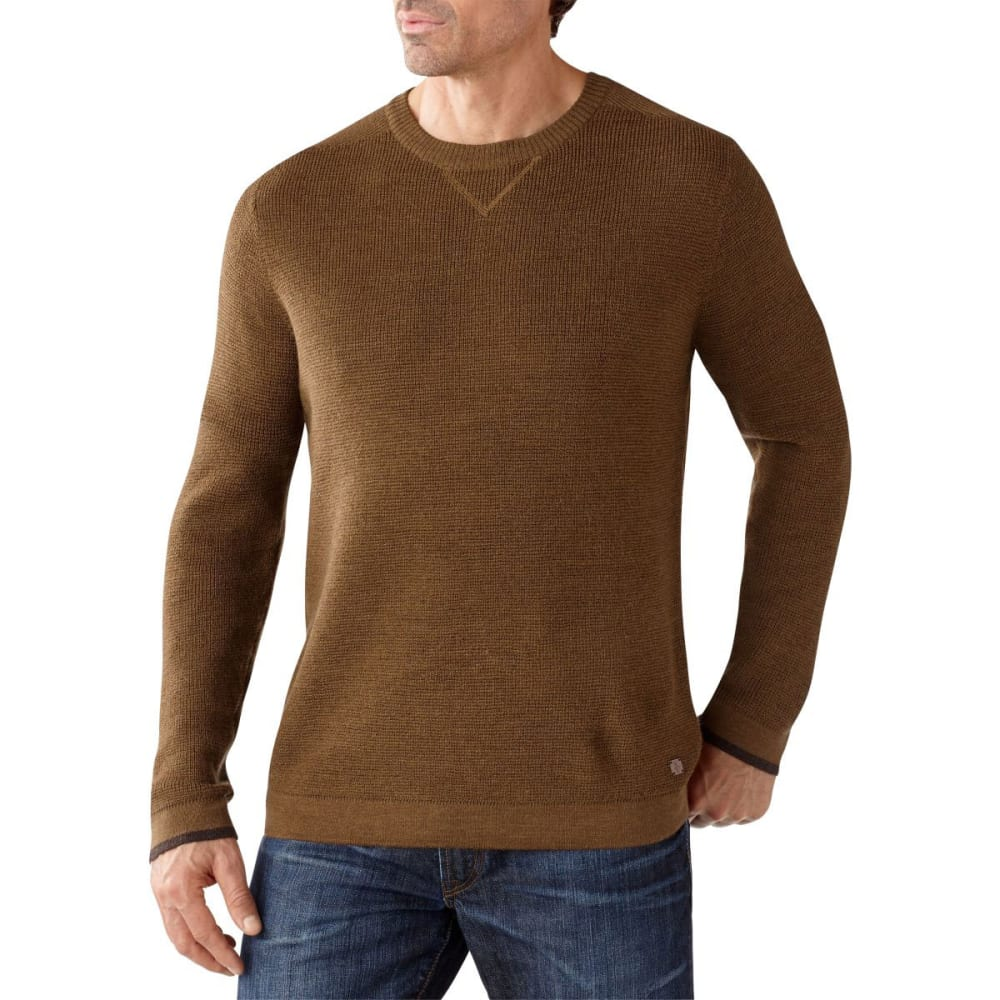 SMARTWOOL Men's Cheyenne Creek Crew - CARAMEL HEATHER