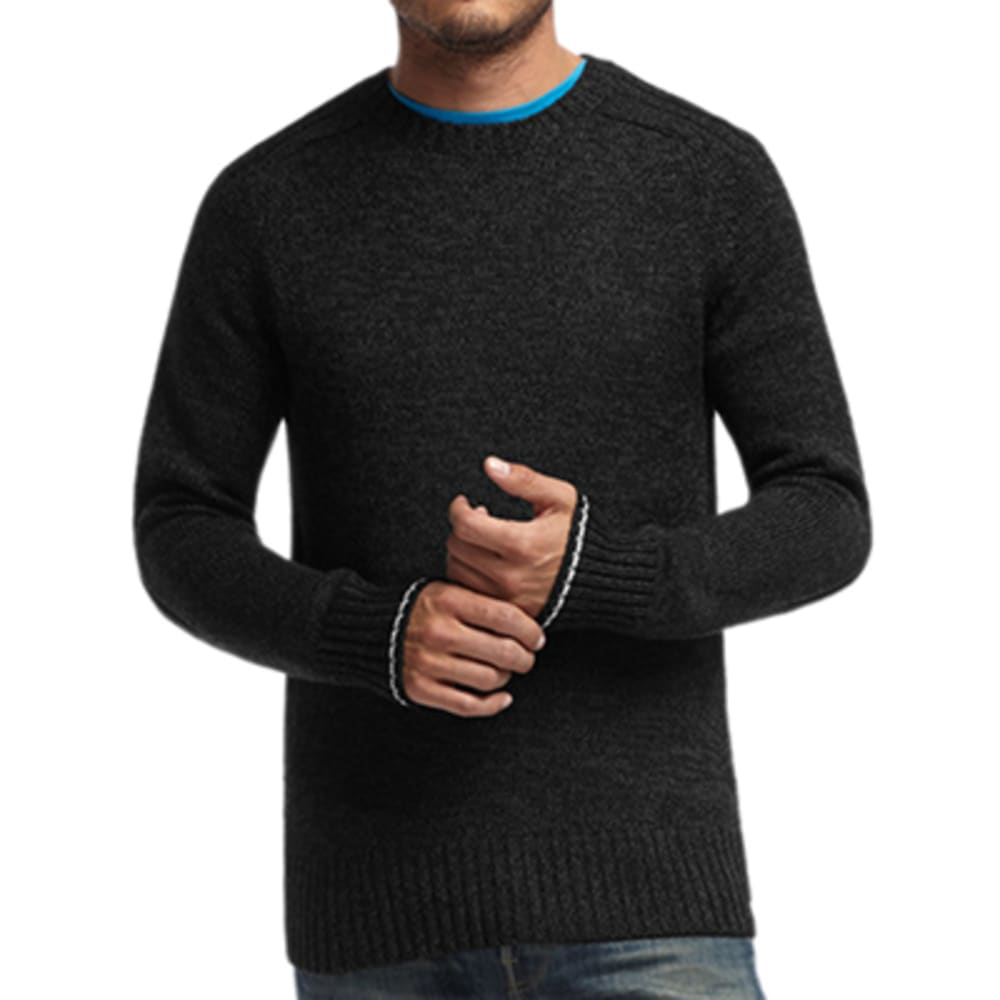 ICEBREAKER Men's Spire Long Sleeve Crew - BLK/JET
