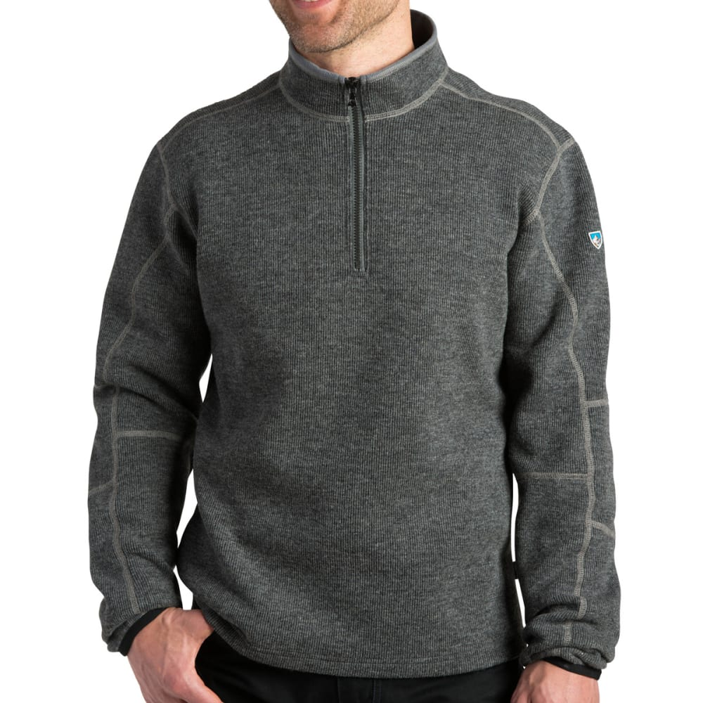 KÜHL Men's Thor 1/4 Zip - GRAPHITE