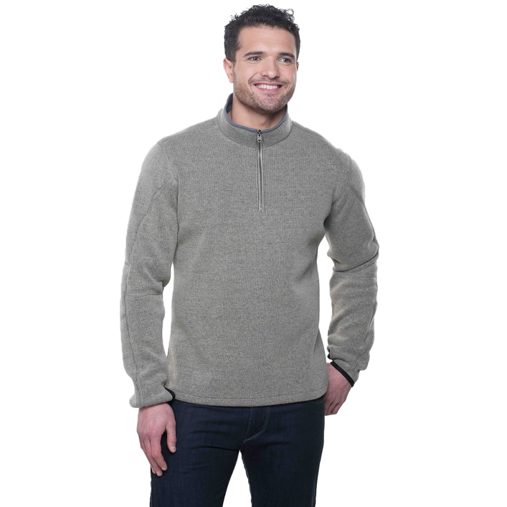 KUHL Men's Thor 1/4 Zip - OT-OATMEAL