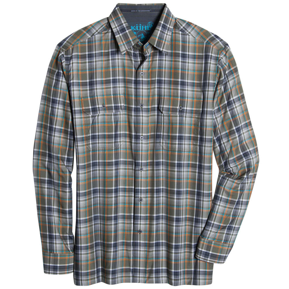 KÜHL Men's Response Long-Sleeve Shirt - OLIVE