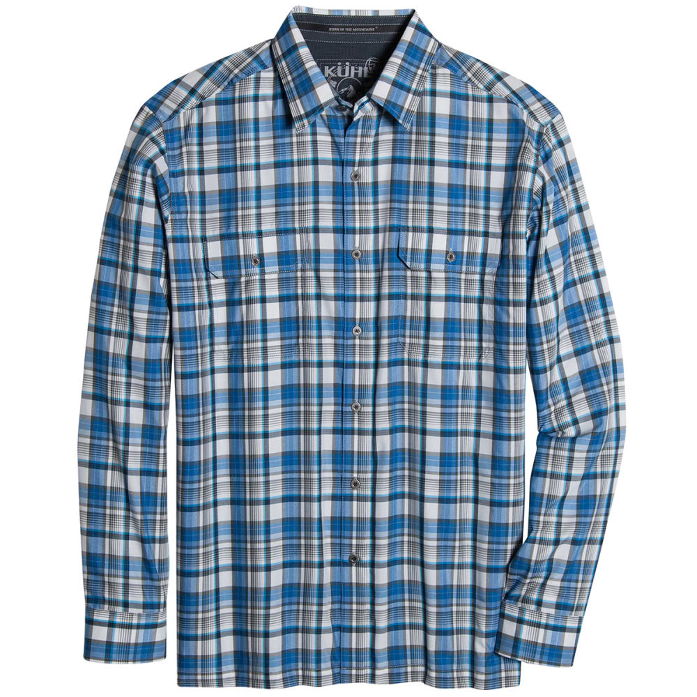 KUHL Men's Response Long-Sleeve Shirt - SHADOW BLUE