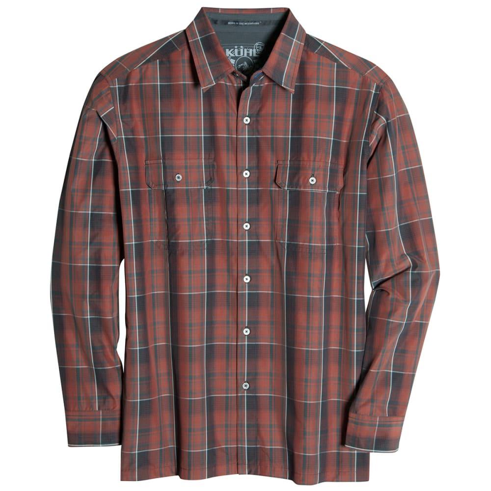 KÜHL Men's Response Long-Sleeve Shirt - SUNDRIED TOMATO