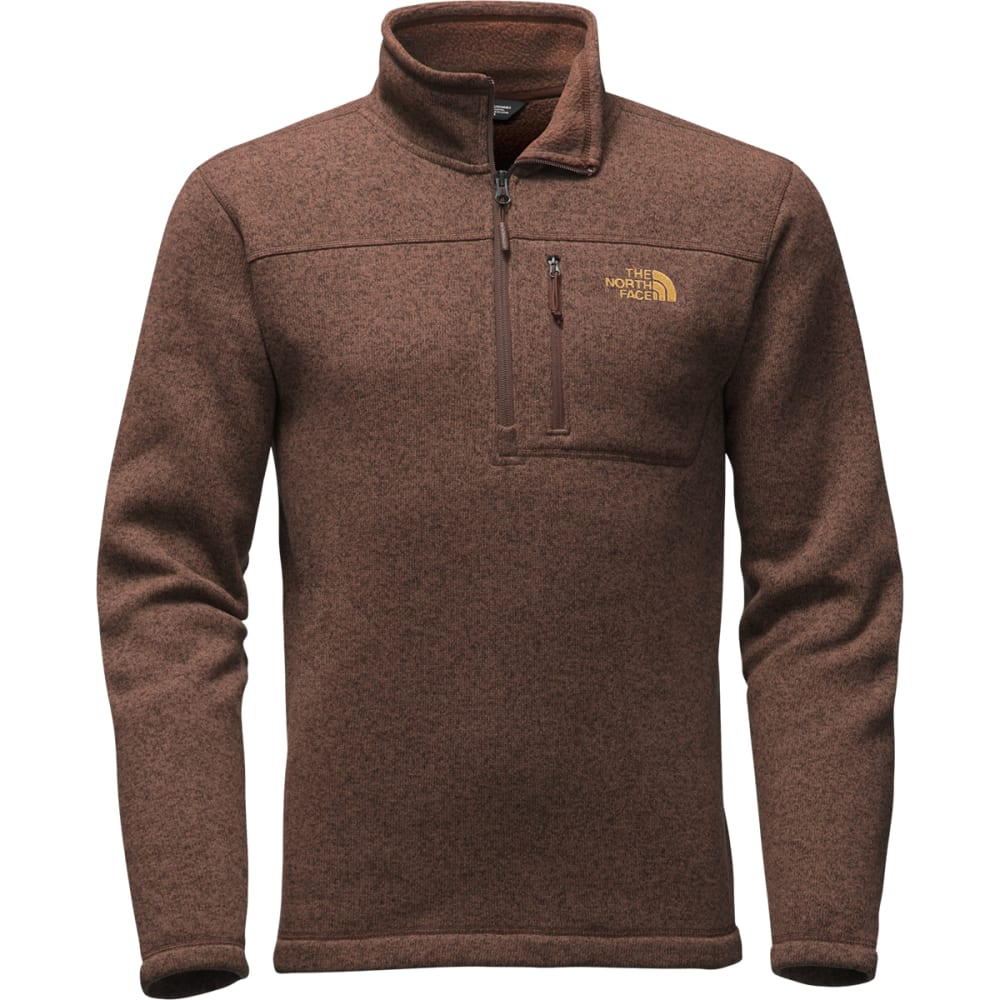 THE NORTH FACE Men's Gordon Lyons ¼ Zip - COFFEE BEAN/BROWN H
