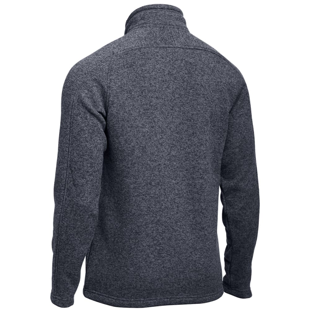 EMS® Men's Roundtrip Pullover Sweater  - EBONY HEATHER