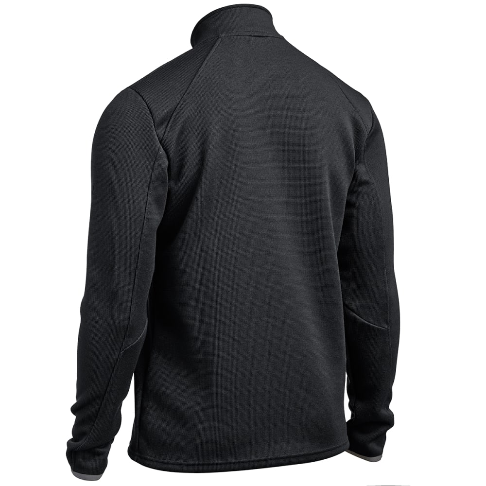 EMS® Men's Lake Placid Pro Fleece ¼ Zip - JET BLACK