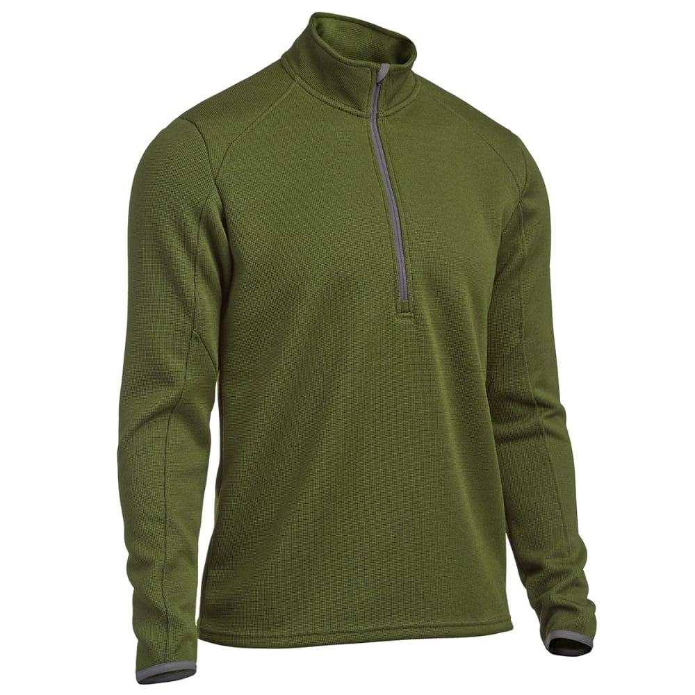 EMS® Men's Lake Placid Pro Fleece ¼ Zip - CHIVE