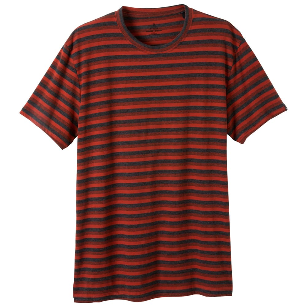 PRANA Men's Mateo Crew - INDIAN RED