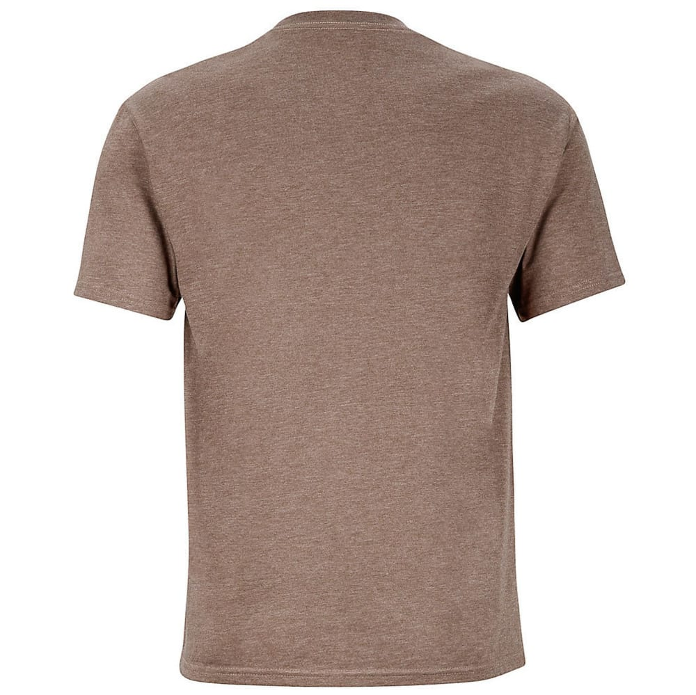 MARMOT Men's Coastal Graphic Tee - 8827-BROWN HEATHER