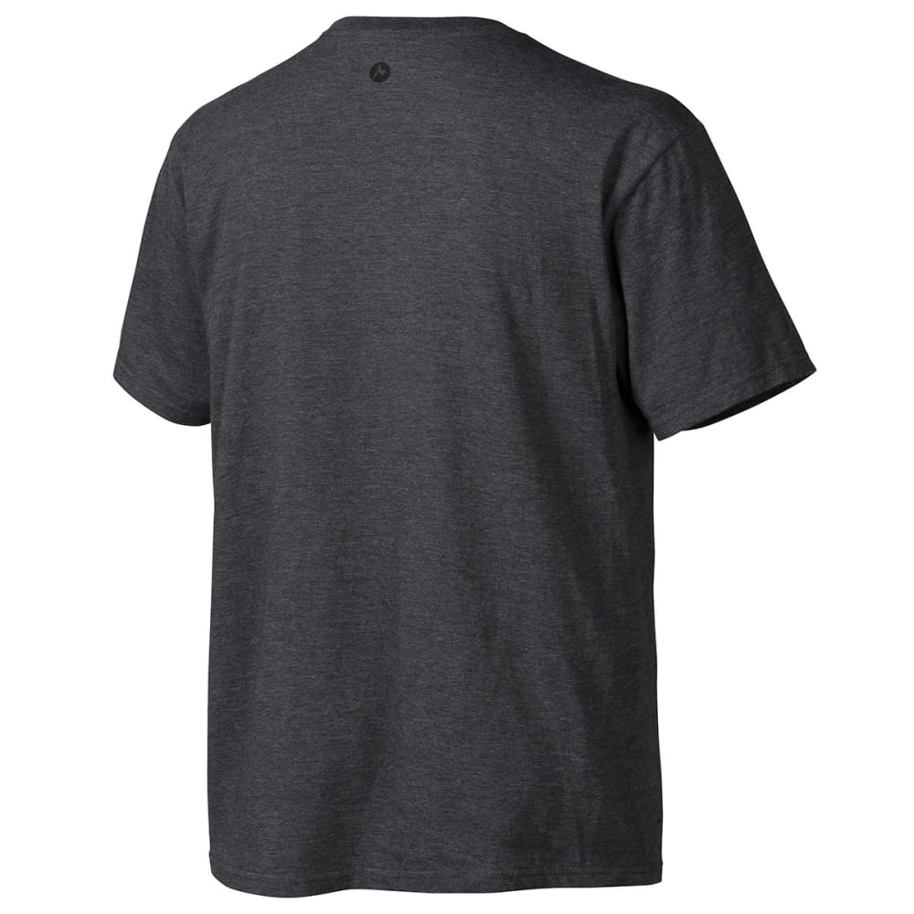 MARMOT Men's Vista T-Shirt, S/S - CHARCOAL HEATHER