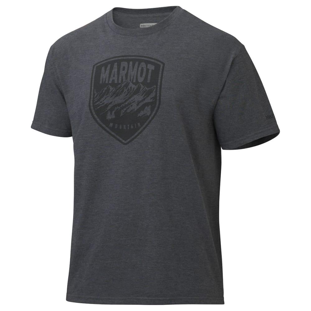 MARMOT Men's Vista T-Shirt, S/S - CHARCOAL HEATHER