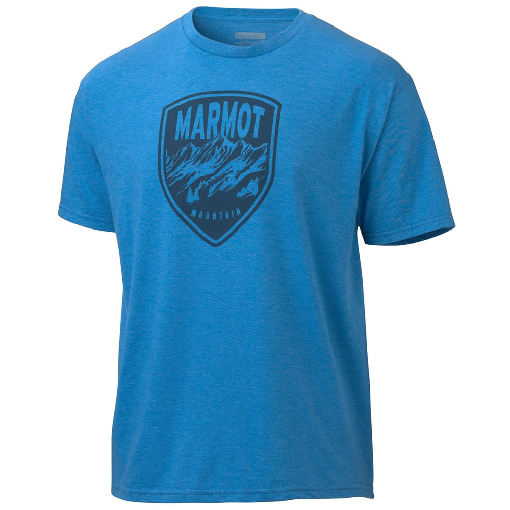 MARMOT Men's Vista T-Shirt, S/S - ROYAL BLUE