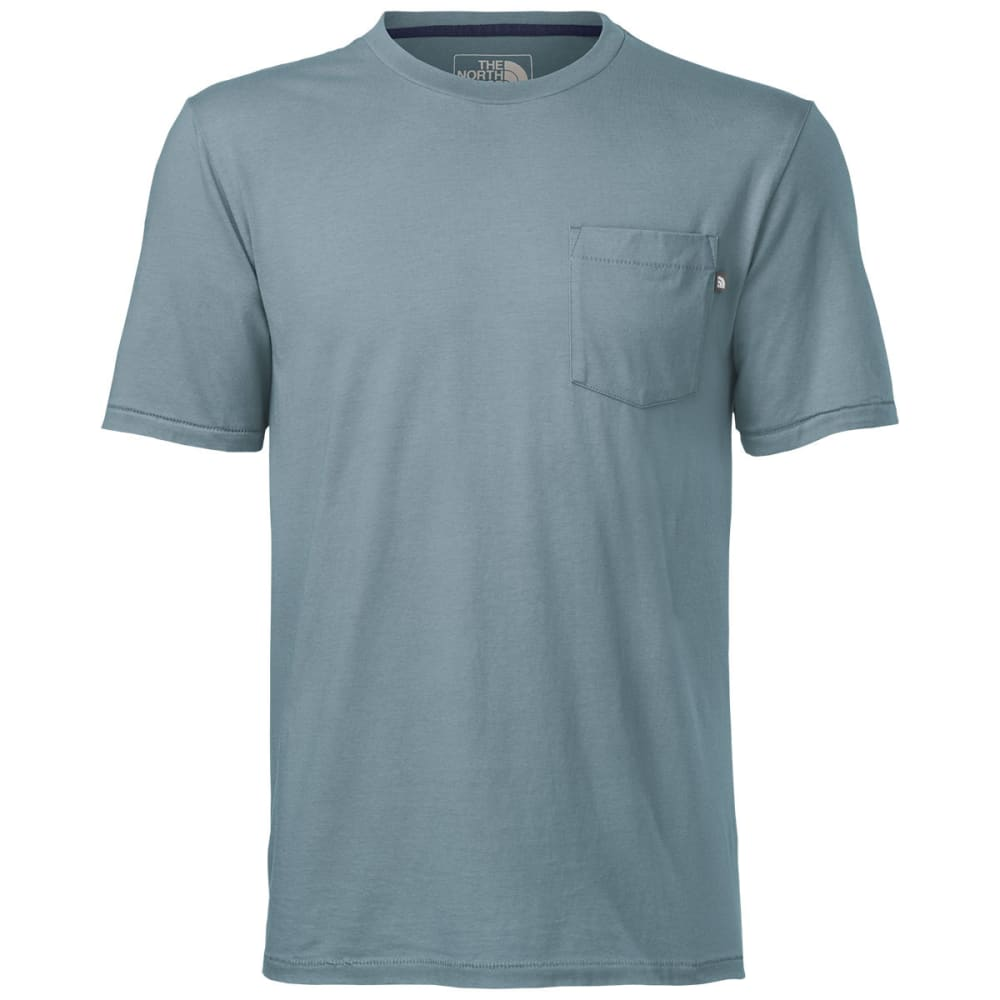 THE NORTH FACE Men's Back in the Pocket T - BLUE