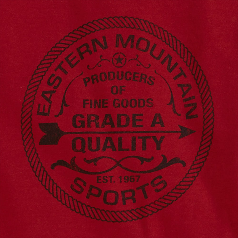 EMS® Men's Grade A Graphic Tee - DEEP RED