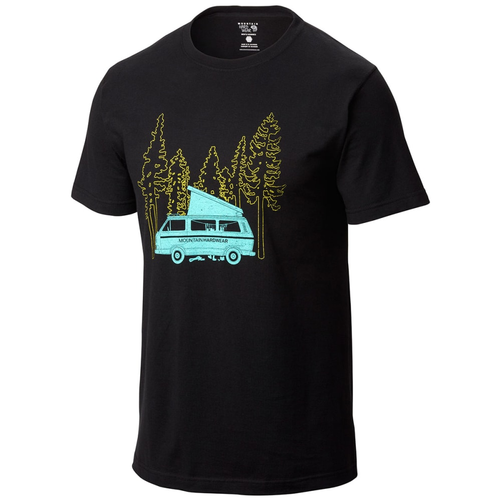 MOUNTAIN HARDWEAR Men's Unplugged T-Shirt - BLACK