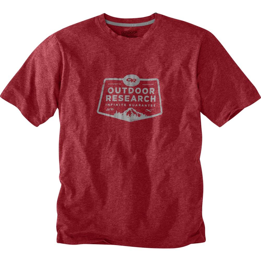 OUTDOOR RESEARCH Men's Bowser T-Shirt - REDWOOD