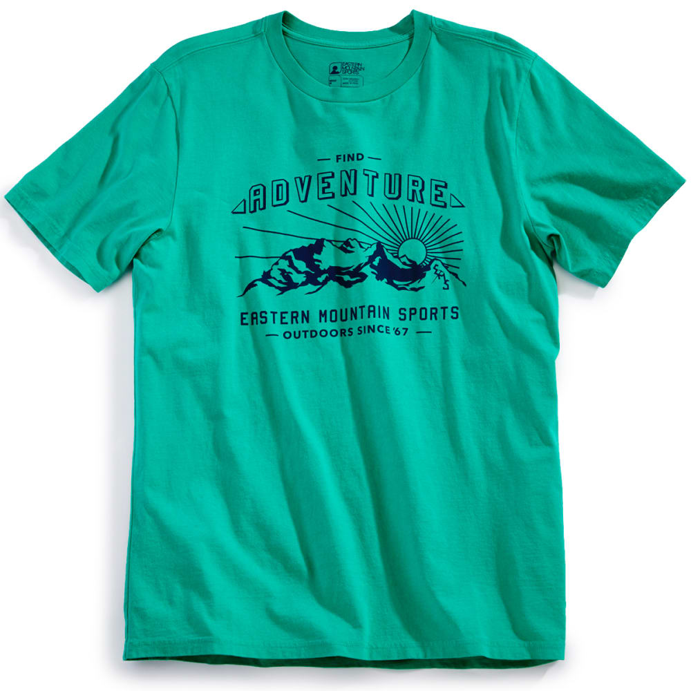 EMS® Men's Find Adventure Graphic Tee - PARAKEET