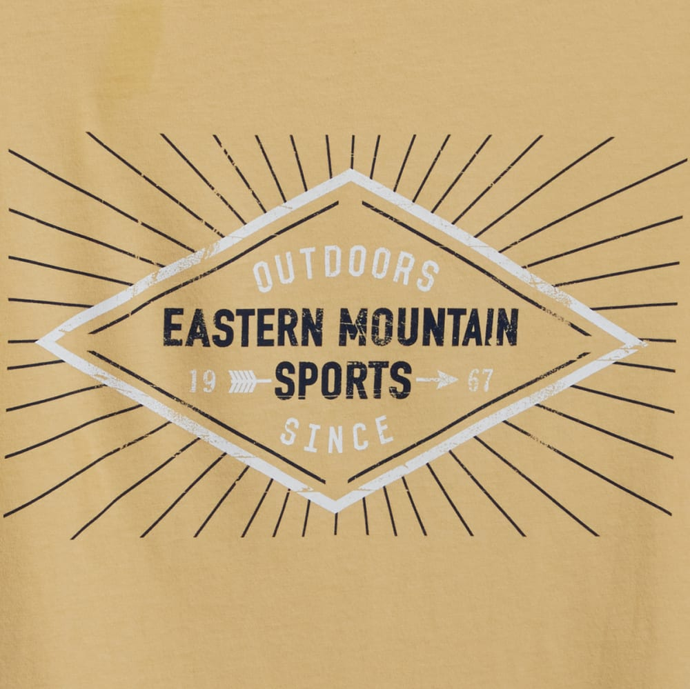 EMS Men's Diamond Graphic Tee - WHEAT