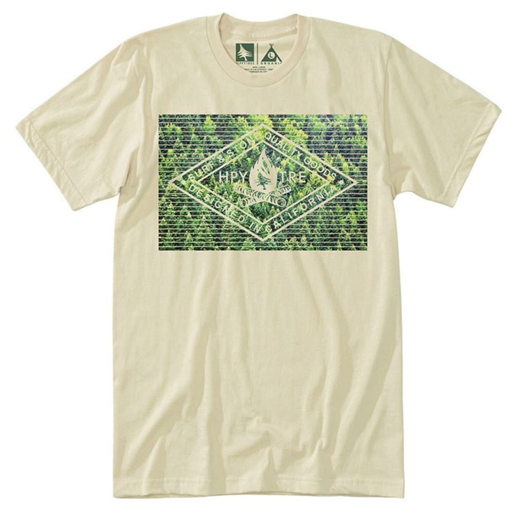 HIPPY TREE Men's Forest Tee - NATURAL