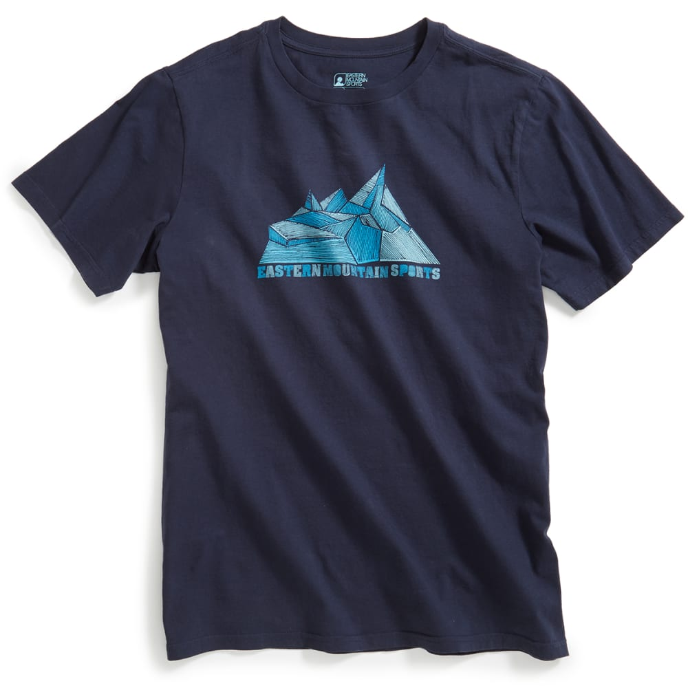 EMS® Men's Glacier Graphic Tee - NAVY BLAZER
