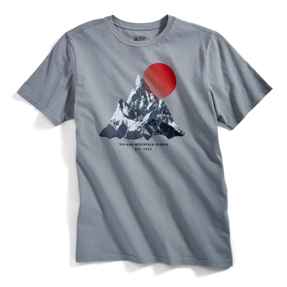EMS® Men's Geo Expedition Graphic Tee - NEUTRAL GREY
