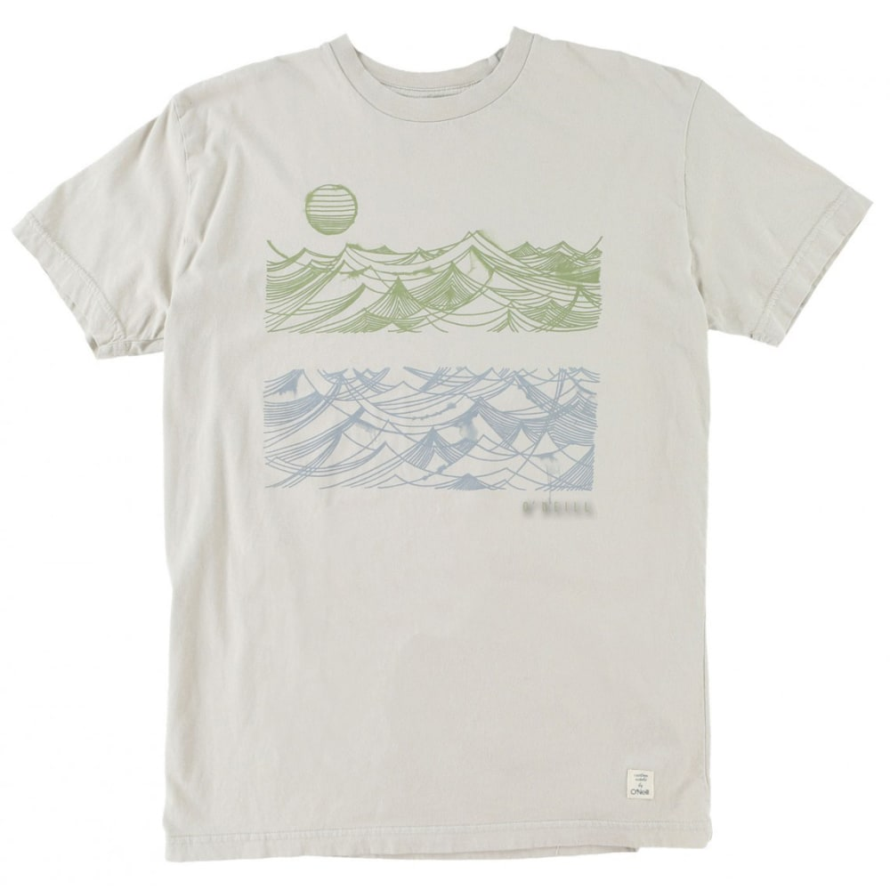 O'NEILL Men's Whirlpool Tee - SMOKE