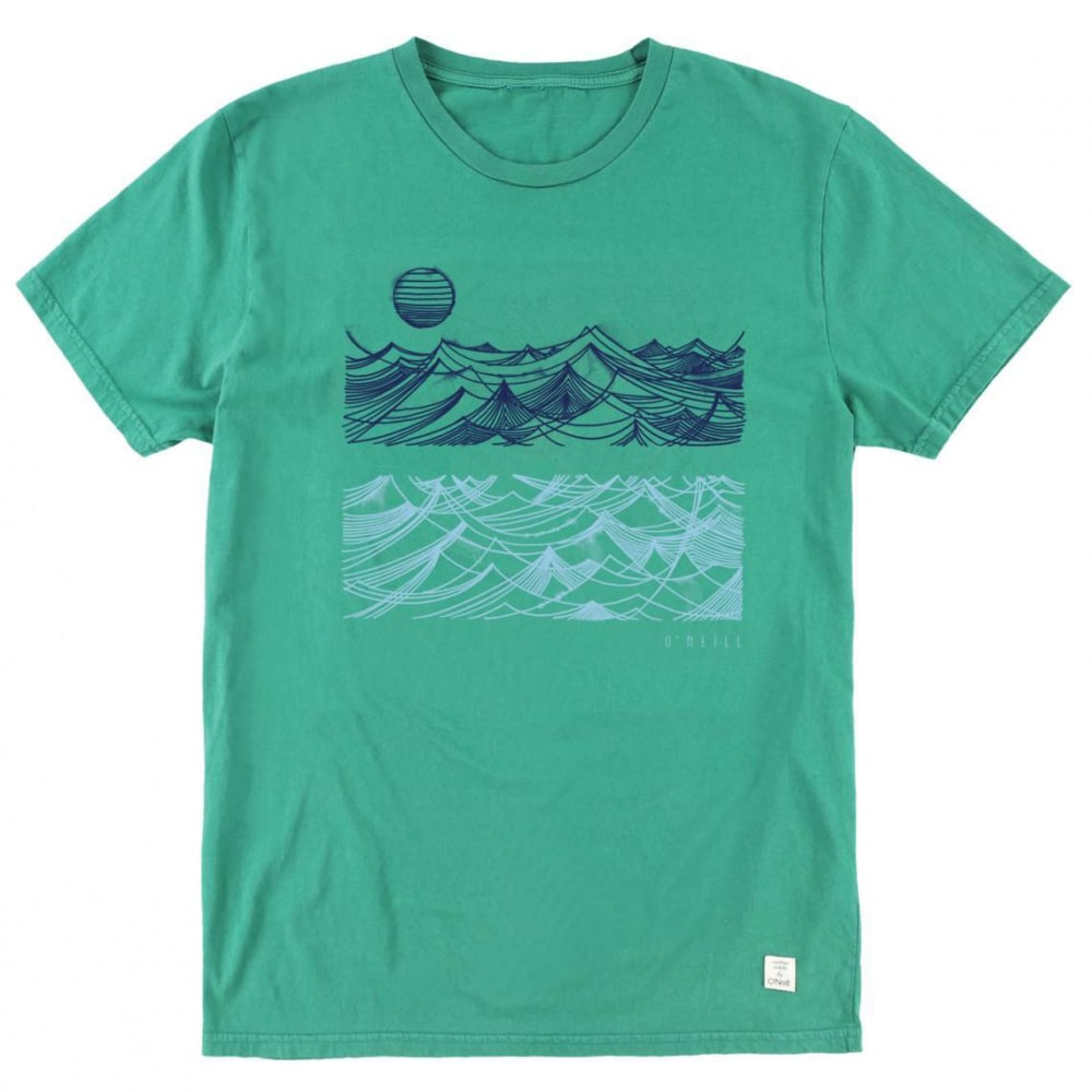 O'NEILL Men's Whirlpool Tee - FOREST GREEN