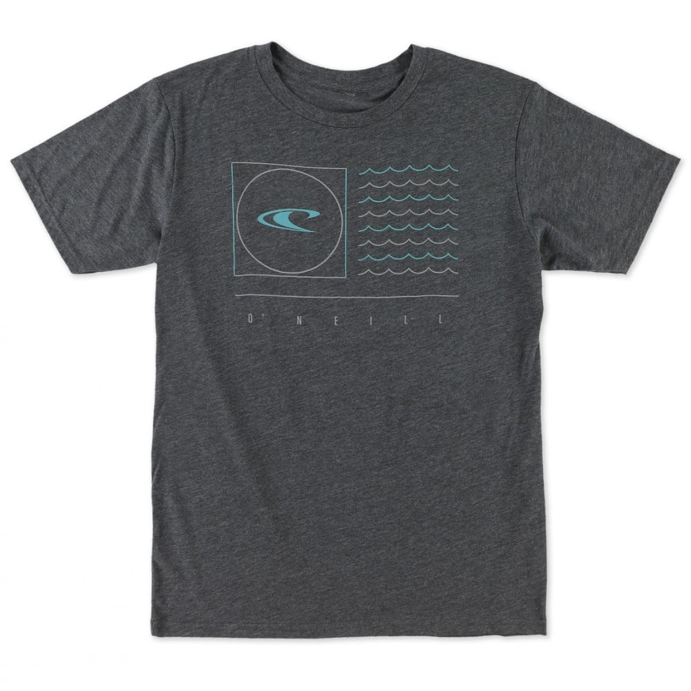 O'NEILL Men's Illusion Tee - HEATHER BLACK