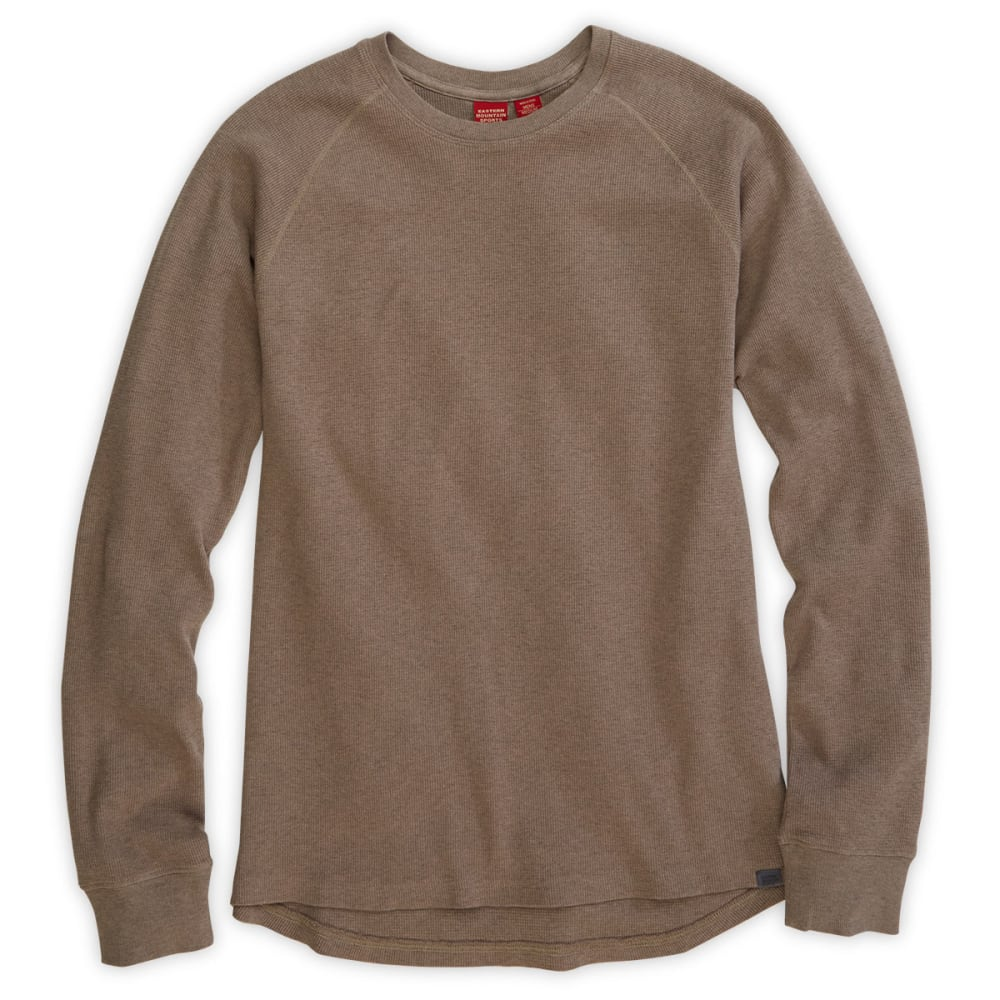 EMS® Men's Balsam Waffle Long-Sleeve Crew  - DUSTY BROWN